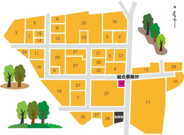 三島工業団地マップ